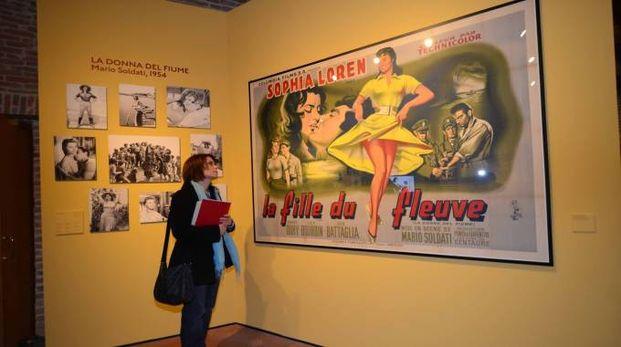 Al Roverella la mostra su cinema e Polesine (Foto Donzelli)