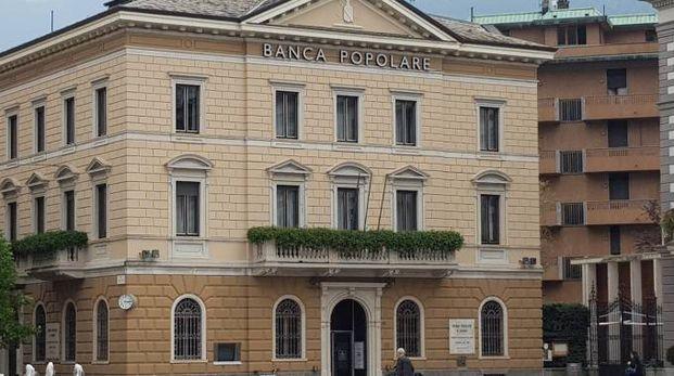 La sede della Bps a Sondrio