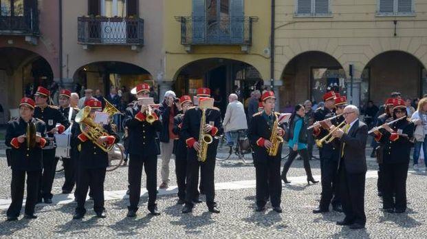 """Un'esibizione del corpo bandistico """"Città di Lodi"""""""
