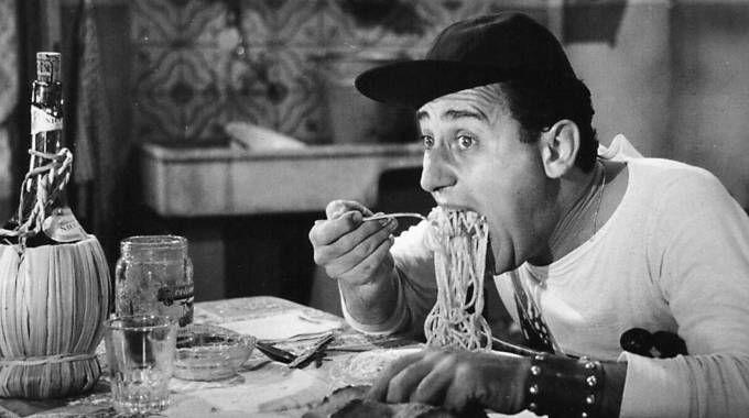 Alberto Sordi e gli amati spaghetti