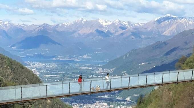 Il progetto della passerella in Val Tartano