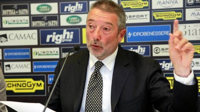 Il Cesena presieduto da Giorgio Lugaresi, in sella di nuovo dal 2013, è avviato verso il fallimento