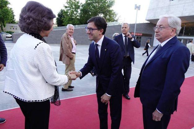 Maggio Musicale Fiorentino, ad assistere al ritorno di Mehta sul podio del teatro c'è anche la regina Sofia di Spagna (New Press Photo)