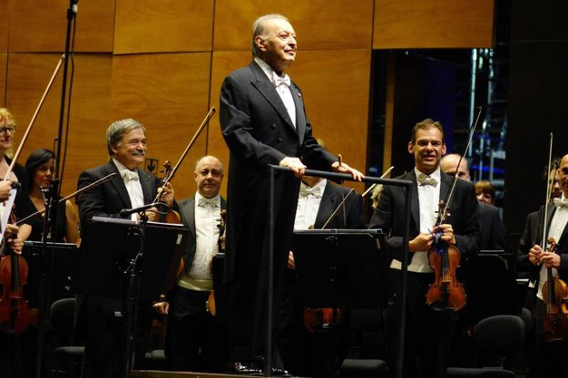 Maggio Musicale Fiorentino, ad assistere al ritorno di Mehta sul podio del teatro c'è anche l'ex regina Sofia di Spagna (New Press Photo)