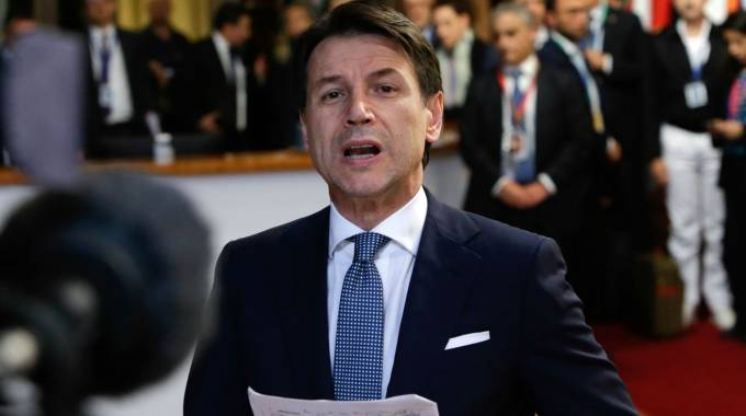 Giuseppe Conte (Afp)