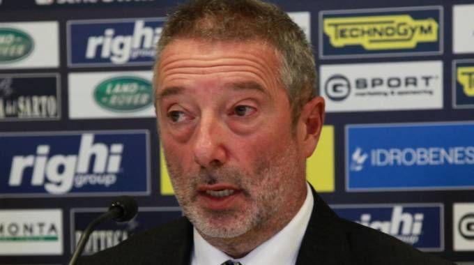 Giorgio Lugaresi annuncia che il Cesena andrà avanti fino in fondo per giocare in serie B