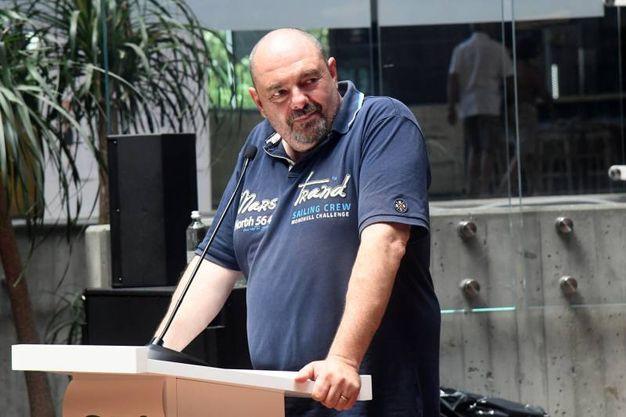 Lo chef Max Poggi, favorevole alla introduzione del piatto nei menu (foto Schicchi)