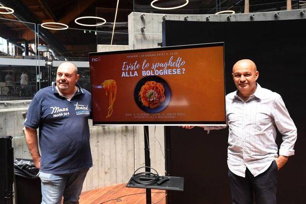 Max Poggi e Alberto Bettini, due chef a confronto (foto Schicchi)