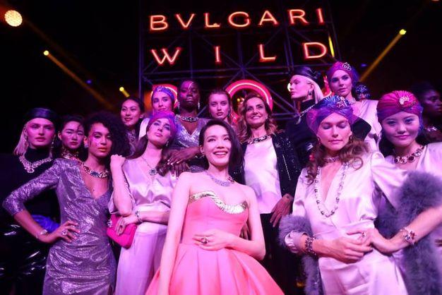 Lucia Silvestri con alcune modelle