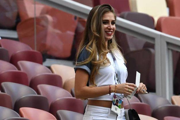 Maria Saues, la fidanzata colombiana del francese Paul Pogba (LaPresse)
