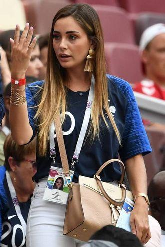 Charlotte Pirroni, fidanzata di Florian Thauvin (LaPresse)