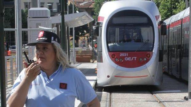 Tramvia a Firenze (Umberto Visintini/New Press Photo)