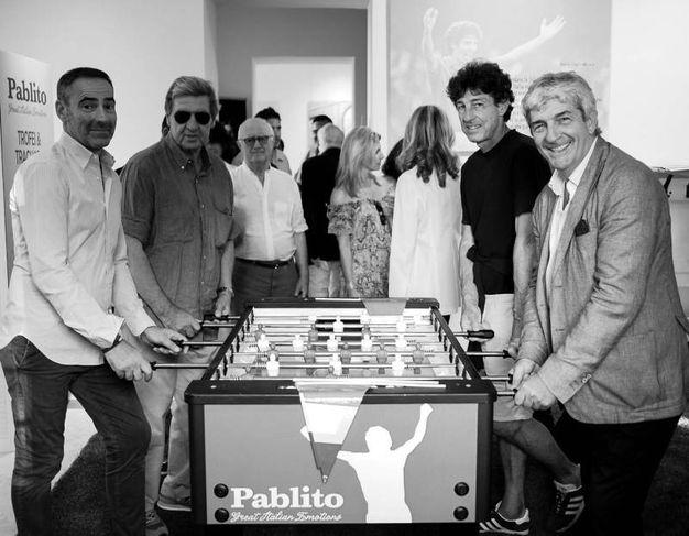 "La mostra ""Pablito Great Italians Emotion"""