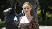 L'attrice Kate Bosworth ospite della sfilata (Ansa)