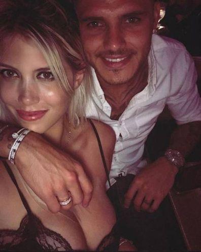 Wanda Nara con Mauro Icardi (Instagram)
