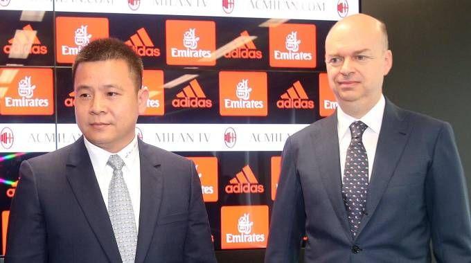 Yonghong Li e Marco Fassone