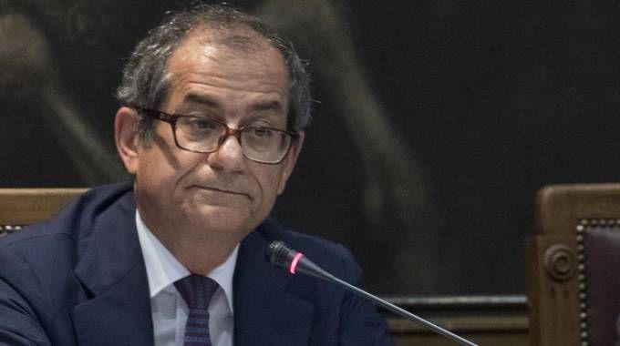 Il ministro dell'Economia Giovanni Tria
