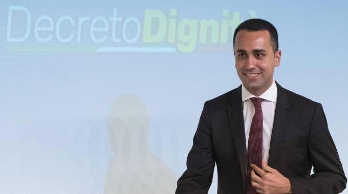 Luigi Di Maio, vicepremier e ministro del Lavoro (Ansa)