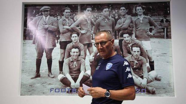 Il tecnico dell'Empoli, Aurelio Andreazzoli (Tommaso Gasperini/Fotocronache Germogli)