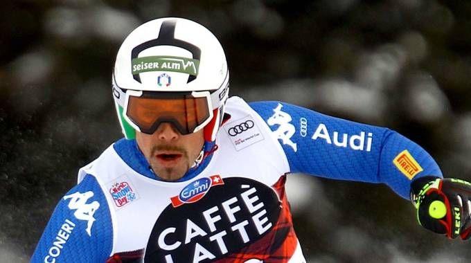 Lo sciatore Peter Fill a Bormio
