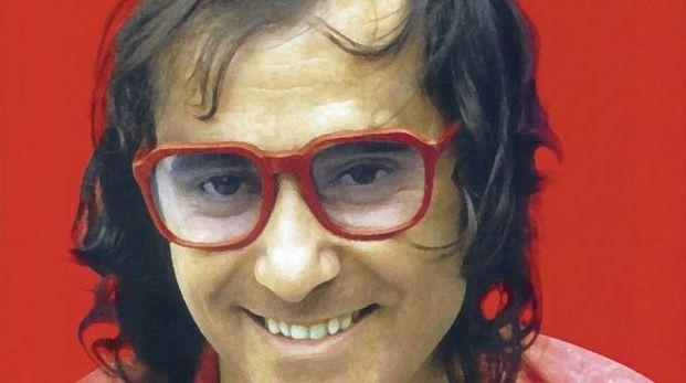 Ivan Graziani in una copertina di un suo disco