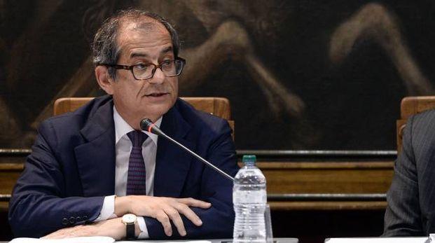 Giovanni Tria, ministro dell'Economia (Lapresse)