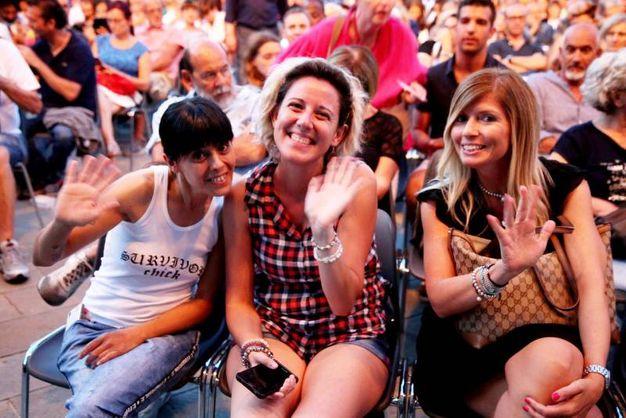 Sorrisi tra il pubblico (foto Ravaglia)