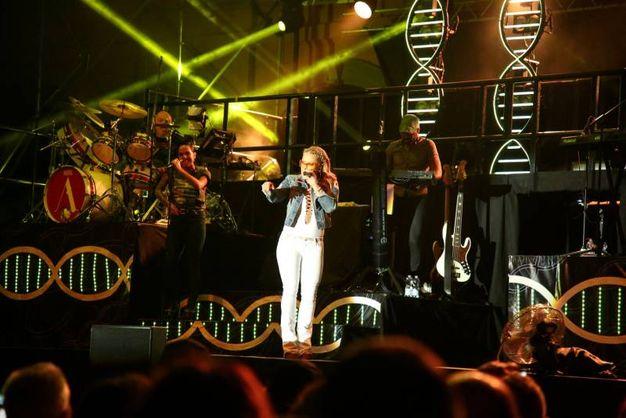Show sul palco (foto Ravaglia)