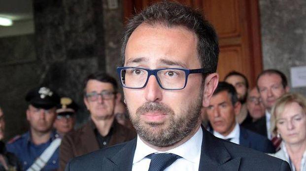 Il ministro della Giustizia Alfonso Bonafede (Ansa)