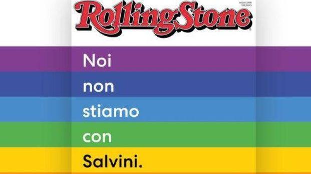 La copertina di Rolling Stone anti Salvini