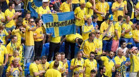 I tifosi svedesi credono nel miracolo