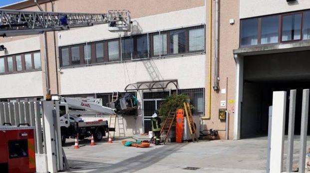 L'incidente mortale sul lavoro a Cesano Maderno