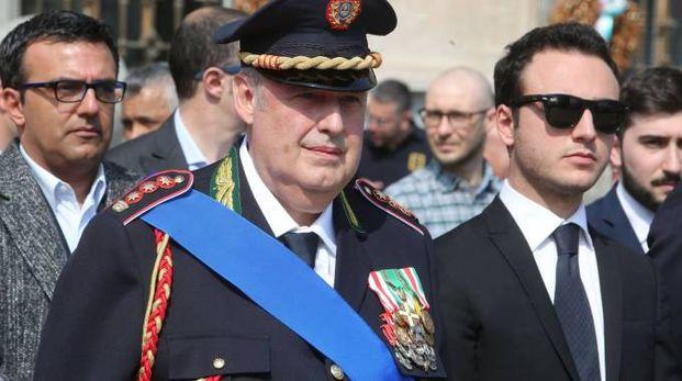 Il comandante dei vigili Piero Romualdo Vergante