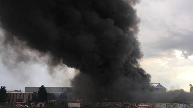 L'incendio alla Orim (Calavita)