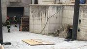 L'incendio nel garage