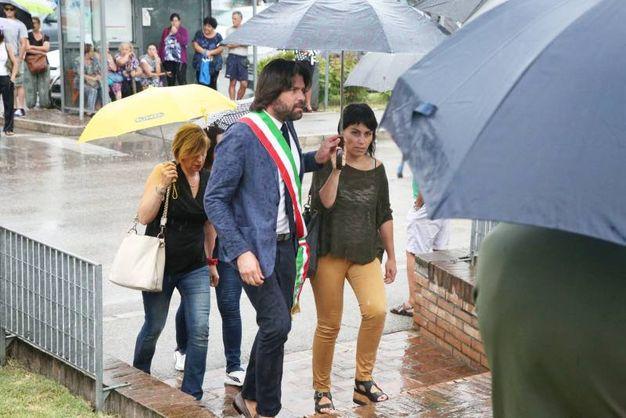 Il sindaco Filippo Giovannini (foto Ravaglia)