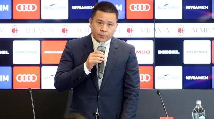 Milan, il presidente Li Yonghong (Ansa)