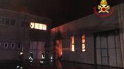 L'incendio alla Muller & Koster spa di Liscate