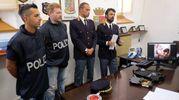 Uno dei due uomini finiti in manette era adetto alla gestione dei pacchi per una ditta di spedizioni di Cesena (foto Frasca)