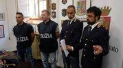 L'indagine della polizia di Stato e in particolare della squadra mobile di Forlì, con il Commissariato di Cesena (foto Frasca)