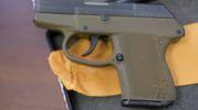 Un'altra pistola rubata (foto Frasca)