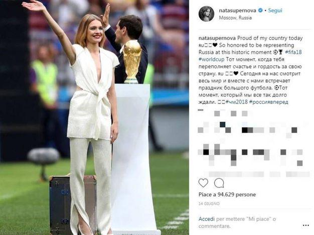 Natalia Vodianova (Instagram)