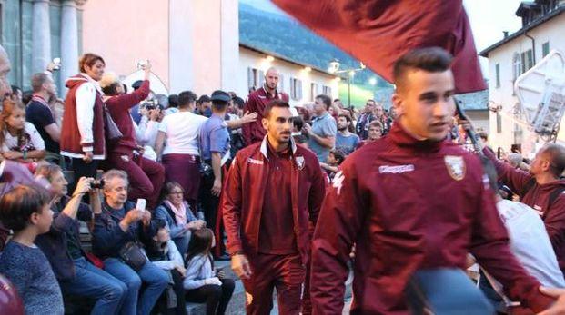 Torino in ritiro a Bormio (Anp)