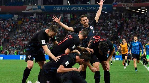 Croazia in semifinale (lapresse)