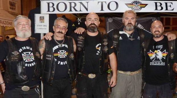 I motociclisti di 'Born to be wild' (foto di Giampaolo Donzelli)