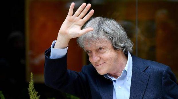 Il regista Carlo Vanzina nel novembre scorso (Ansa)