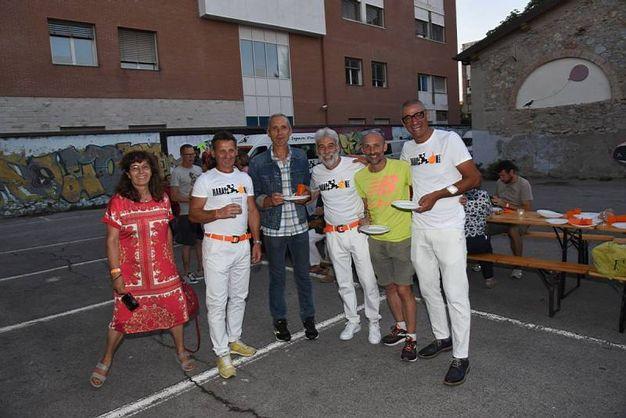 La festa dei MaratonAbili (foto Regalami un sorriso onlus)