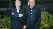 Carlo ed Enrico Vanzina (Lapresse)