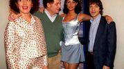 Con Cash, Antonello Fassari e Cinzia Leone (Ansa)