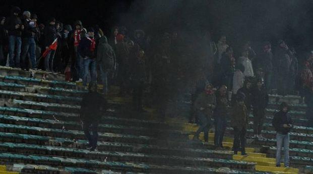 La rabbia ultras dell'Ancona